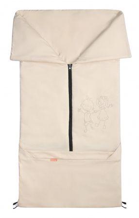 Emitex vreča za voziček 2v1 BARY, siva