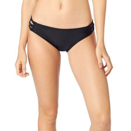 FOX női bikinifelső Throttle Maniac Lace Up S fekete
