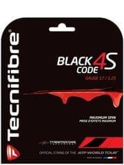 Tecnifibre tenis struna Black Code 4S - set