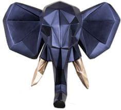 Walplus Nástenná závesná dekorácia, slon