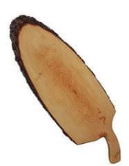 Portoss deska z lubjem in ročajem, 60-70 cm, voskana