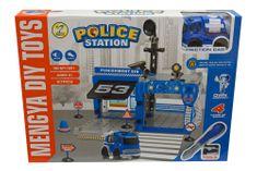 Unikatoy igra policijska postaja zvuk+vozilo, ŠK.25109