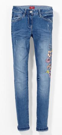 s.Oliver lány nadrág 158 kék