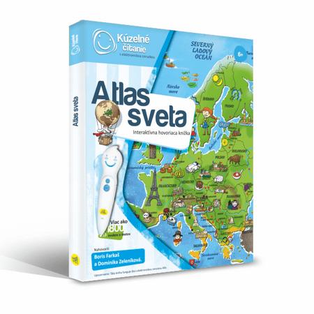 266db199e Albi KÚZELNÉ ČÍTANIE Kniha Atlas sveta SK - Alternatívy | MALL.SK