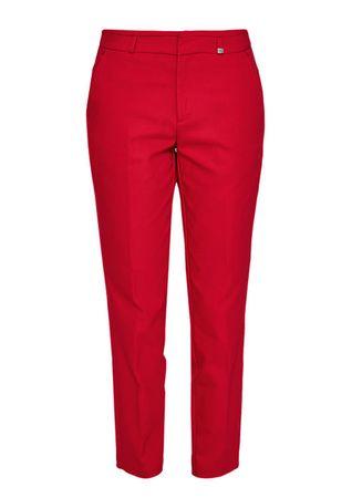 s.Oliver női nadrág 34 piros