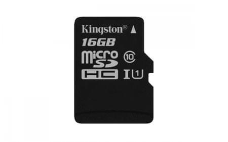 Kingston spominska kartica micro SDHC, 16 GB