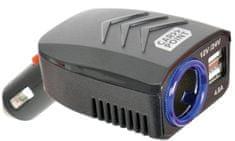 CarPoint Elosztó USB 12V/24V 4,8A konnektorral DC