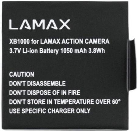 LAMAX Li-ion akkumulátor a LAMAX X10 kamerához