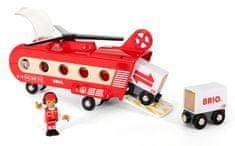 Brio helikopter towarowy - zabawka