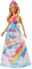 Mattel Barbie princezná - ružová čelenka