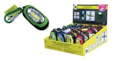 Finish baterijska LED svetilka s karabinom COB - odprta embalaža