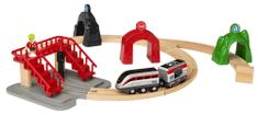 Brio WORLD 33873 Chytrý vlak s aktivními tunely SMART TECH