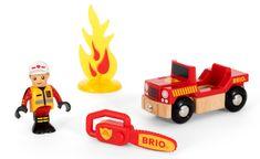 Brio Tűzoltó játékszett