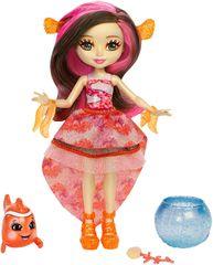 Mattel Enchantimals Panenka Clarita és klaun a hal