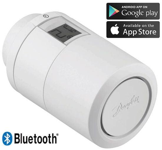 DANFOSS Eco™ Bluetooth, inteligentná radiátorová termostatická hlavica, biela