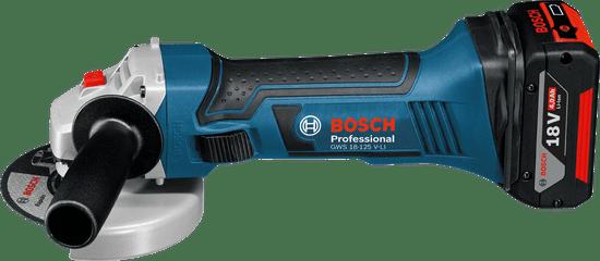 BOSCH Professional Aku úhlová bruska GWS 18-125 V-LI Professional (0.601.93A.30L)