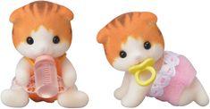 Sylvanian Families Baby dvojčatá mačiatka javorových mačiek 5292