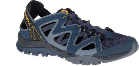 Merrell moški čevlji Tetrex Crest Wrap, Navy, 45