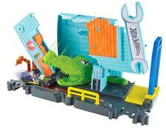 Hot Wheels City Stretni sa s príšerou Gator garage