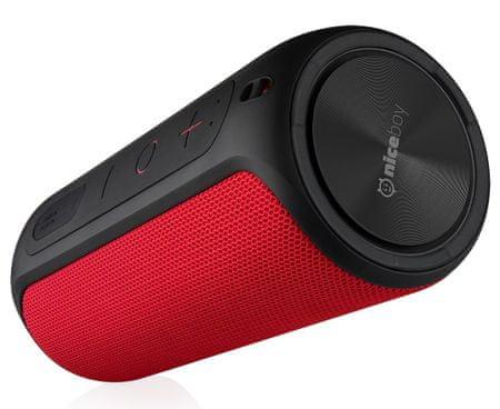 Niceboy prijenosni Bluetooth zvučnik RAZE, crveni