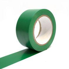 Zelená vyznačovací podlahová páska - 33 m x 5 cm