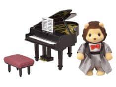 Sylvanian Families Oroszlán zongorista 6011