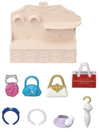 Sylvanian Families Város - divat butik kézitáskákkal és kiegészítőkkel 6015