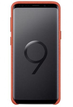 SAMSUNG Hátsó védőtok - Alcantara bőr Samsung Galaxy S9+ - ra (EF-XG965AREGWW)