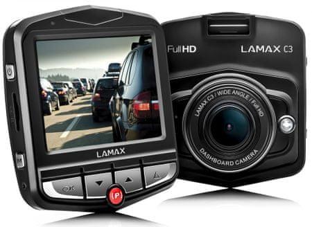 LAMAX C3 Autós fedélzeti kamera