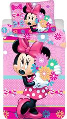 Jerry Fabrics posteljina Minnie Bows and Flowers, Minnie Bows sa cvijećem
