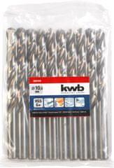 KWB KWB svrdla za metal SILVER STAR, 1 mm, 2 kom, HSS, DIN 338 (206510)