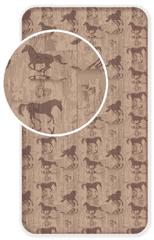 Jerry Fabrics bawełniane prześcieradło Koń Western