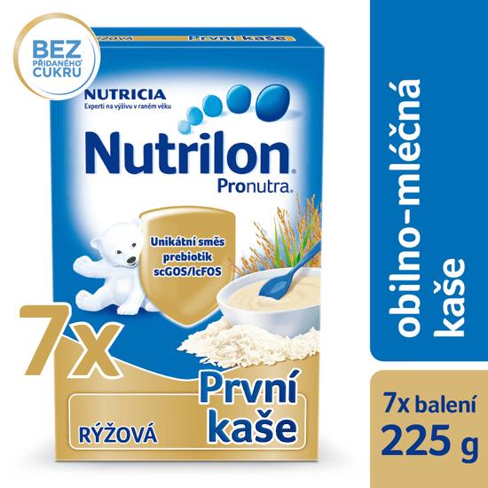 Nutrilon Mliečna kaša ryžová - 7 x 225g