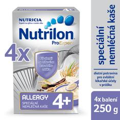 Nutrilon Allergy nemliečna kaša - 4 x 250g