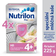 Nutrilon Mliečna HA kaša ryžová - 4 x 225g