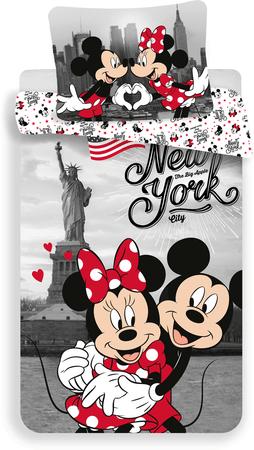 Jerry Fabrics pościel Myszka Miki w Nowym Jorku