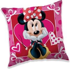 Jerry Fabrics Vankúšik  Minnie hearts 02