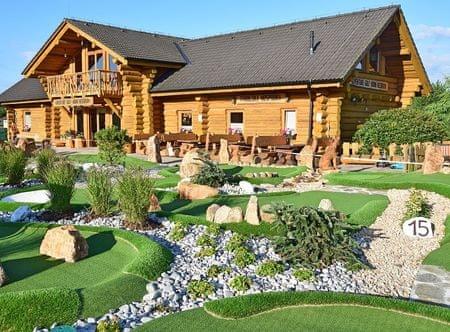 Allegria adventure golf pro dva s obědem