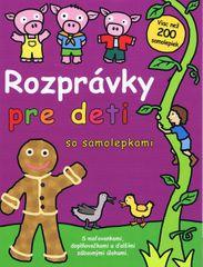 autor neuvedený: Rozprávky pre deti so samolepkami