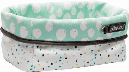 Bebe-jou Textilný košík na dojčenské potreby, Confetti Party