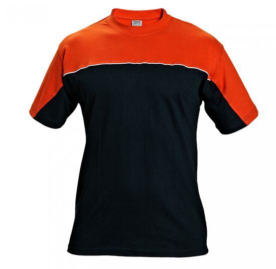 Emerton Bavlnené pracovné tričko čierna L