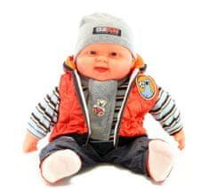 Lamps Bábätko veľké - chlapec - oranžová vesta