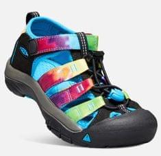 KEEN Sandały dziecięce Newport H2, rainbow tie dye