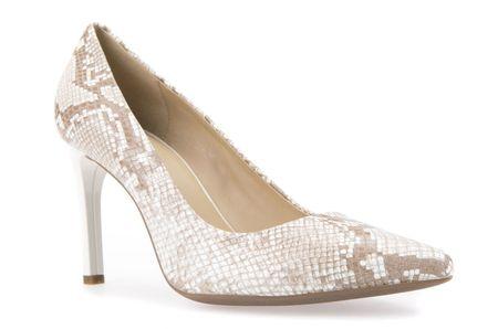 Geox Faviola női magassarkú cipő 35 bézs