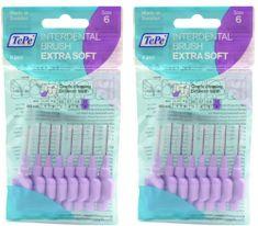 Tepe Medzizubné kefky Extra Soft 1,1 mm fialová 2 x 8 ks