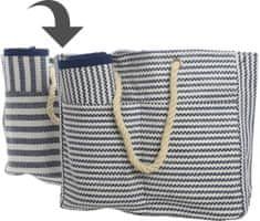 Kaemingk Plážová taška s podložkou, hrubé prúžky
