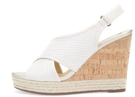 Geox sandały damskie Donna Janira 35 kremowe