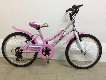 Frejus dekliško kolo s šestimi prestavami, 20'', belo-roza