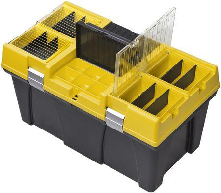 PATROL Stuff 26 Semi Profi Carbo szerszámosláda, sárga