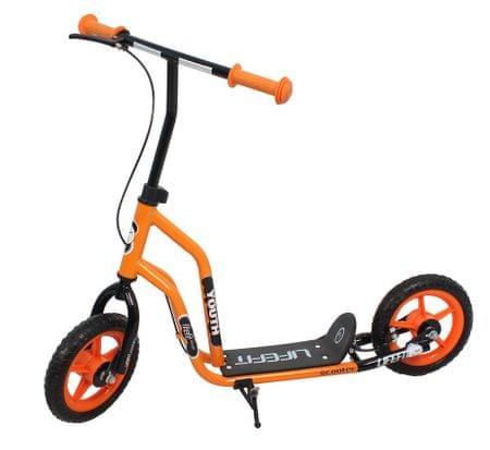 Sulov Lifefit Youth skiro, 254 mm, črno-oranžen